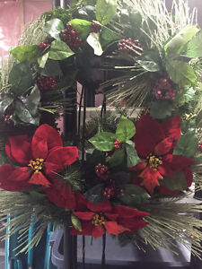 "24"" Christmas Wreaths $20 each"