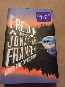 FREEDOM A NOVEL by Jonathan Franzen