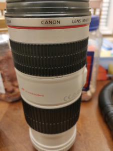 Canon lens 70-200 f4 IS