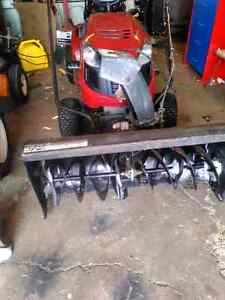 "42"" Snow blower attachment"