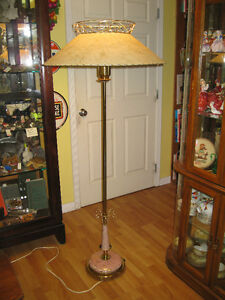 Mid Century Floor Lamp -- FROM PAST TIMES Antiques - 1178 Albert
