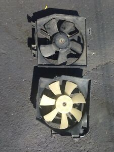 Fan radiateur et air climatisee Mazda Protege