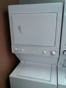 WASHER AND DRYER STACKABLE ELECTROLUX HEAVY DUTY 27""