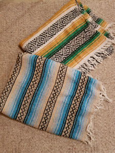 Mexican blankets $20 for both