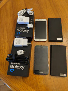 2 Samsung Galaxy S7 smart phones unlocked like new