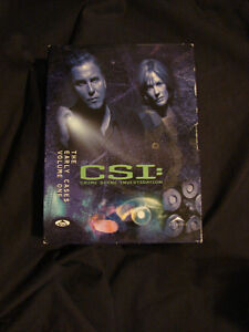 CSI: Crime Scene Investigation - The Early Years 3 disc box set Belleville Belleville Area image 1