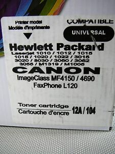 Toner cartrige Hewlett Packard 12A Canon 104 London Ontario image 3