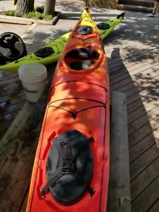 Used kayak/Kayak d'occasion - Eliza