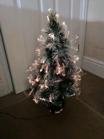Colour changing Christmas tree