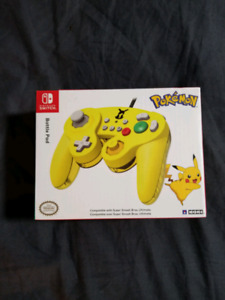 Manette Switch Battle pad Neuf special Pikachu