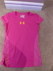 Kids Under Armour and Adidas t-shirts, pants and shorts