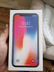 One day old iPhone X grey $850 if picked up tonight