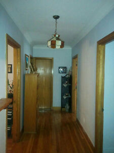 5 1/2 APARTMENT FOR RENT WITH HALF BASEMENT
