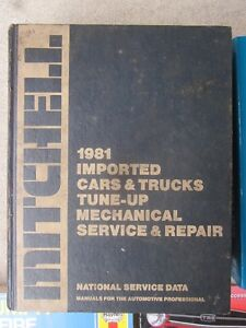 Mitchell 1981 Imported Cars Trucks Tune-Up Mechanical Book Cambridge Kitchener Area image 1