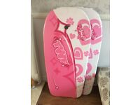 Child's surfboard- pink (2 available) BRAND NEW!!
