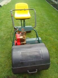 ATCO B24 sit on petrol lawn mower