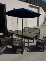Gluckstein Wicker Patio Set - Brand New Stock