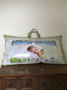 Brand New King Size Bamboo Pillow