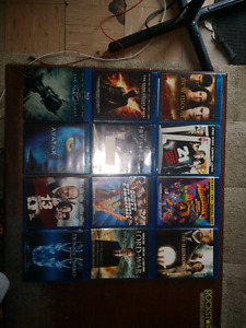 Blue ray movies and TV series