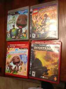 SELLING FOUR PS3 GAMES IN GOOD CONDITION