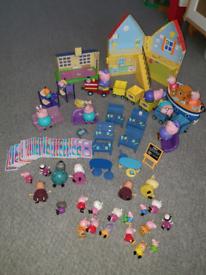 Bundle of Peppa Pig Toys