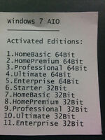 Windows 7 All In One DVD