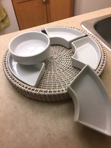 Multi-purpose section tray -NEW