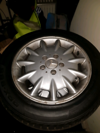 Mercedes w210 elegance alloys 16 inch for sale  Sunderland, Tyne and Wear