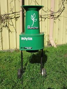 Rover Heavy Duty Electric Mulcher Oaklands Park Marion Area Preview