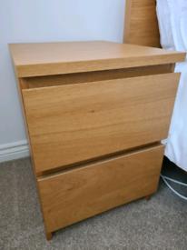 IKEA MALM - Bedside cabinet