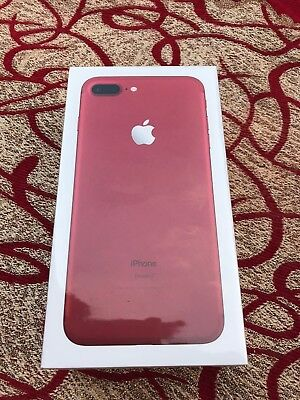 Apple iPhone 7 With the addition of 256 GB RED Smartphone Factory Unlocked Brand New Sealed