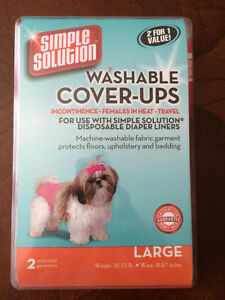 Washable Dog Diapers - 2/pack - Size Large Lg London Ontario image 1