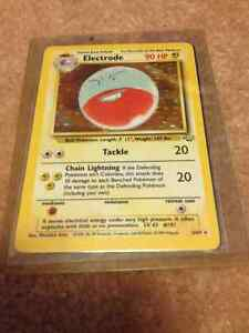 Pokemon Jungle Rare Holo's (1999) #/64 Mint condition cards $30 Cambridge Kitchener Area image 3