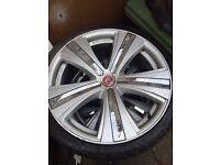 """19"""" Savoy mania alloys and tyres"""