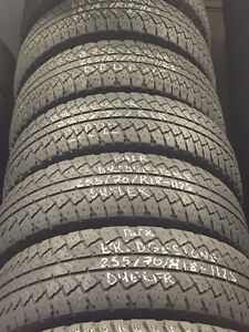 18 in snow all season used tires