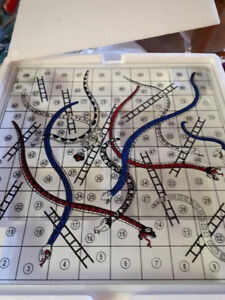 SHOT GLASS SNAKES N' LADDERS GAME