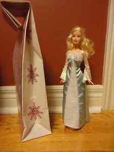 Brand new princess doll toy blue white dress London Ontario image 2