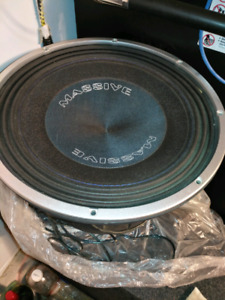 "Massive Audio Rhino 15"" Subwoofer"