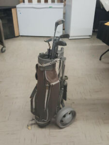 Youth Golf Set with Cart