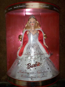 Barbie Special 2001 Edition- Holiday Celebration! New & Sealed!