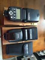 Set of TWO Yongnuo YN565EX flash for Canon