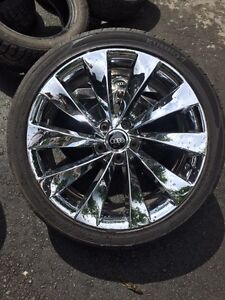 19 inch Mags and tires