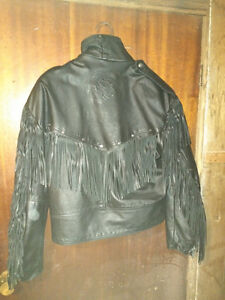 Screaming Eagle Leather Jacket Woman's Large London Ontario image 2