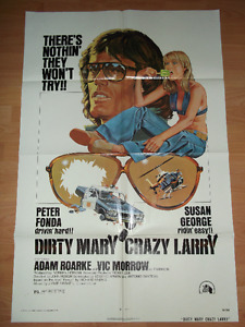 affiche cinema dirty mary crazy larry