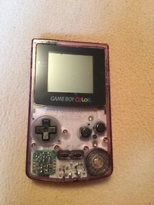 Game boy color with games, and N64 games