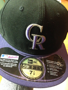 New Era Colorado Rockies hat