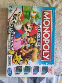 Monopoly gamer boardgame (Mario edition)