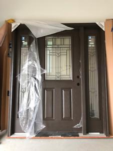 Fiberglass Entrance Door & Sidelights