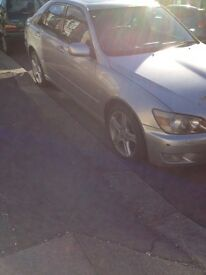 Lexus is200 silver 1c0 breaking parts spares 98-05 is 200 is 300 doors window wing light bumper boot