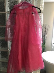Beautiful pink girls dress and shawl Kitchener / Waterloo Kitchener Area image 3